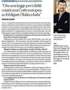 Intervista Repubblica 24 maggio 2015